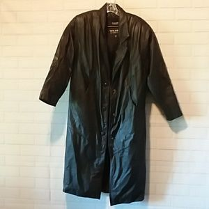Wilson Leather Black petite S Thinsulate jacket